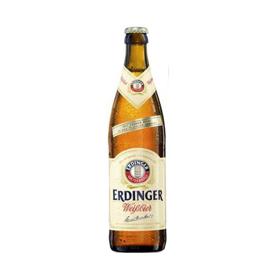 Erdinger Weissbier Beer 500ml Bottle x12
