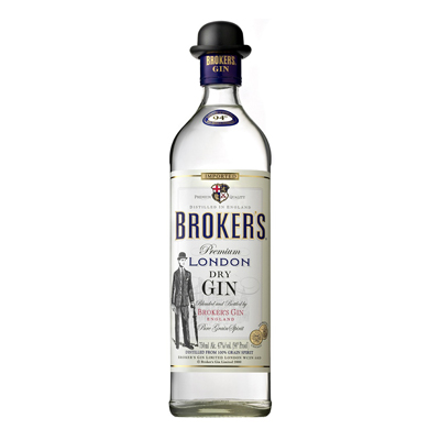 Broker's London Gin Singapore