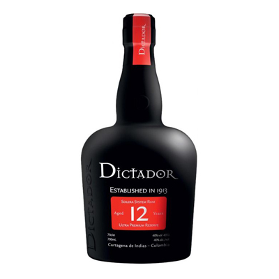Dictador 12 Years Rum