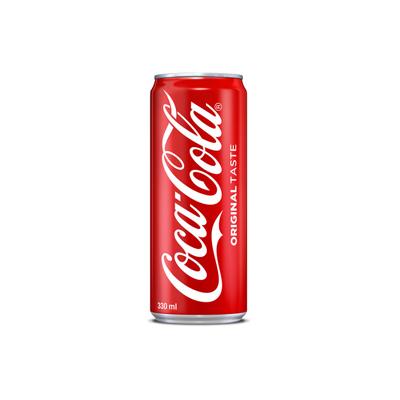 Coca Cola 330ml Can Singapore