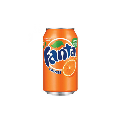 Fanta Orange 330ml Can Singapore
