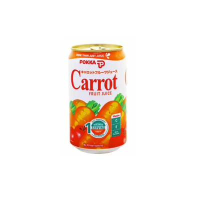 Pokka Carrot 330ml Can Singapore