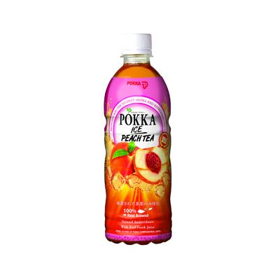 Pokka Peach Tea 500ml Bottle Singapore