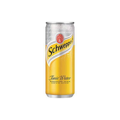 Schweppes Tonic Water 330ml Can Singapore