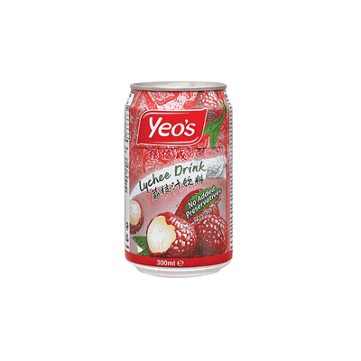 Yeo's Lychee 330ml Can Singapore