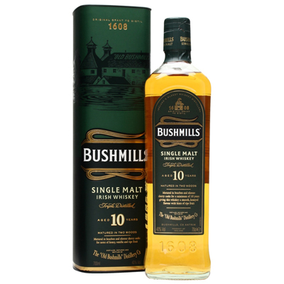 Bushmill Irish Whiskey 10yrs Singapore