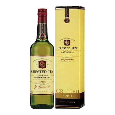 Crested Ten Jameson Irish Whisky Singapore