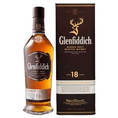 Glenfiddich 18 Years Singapore