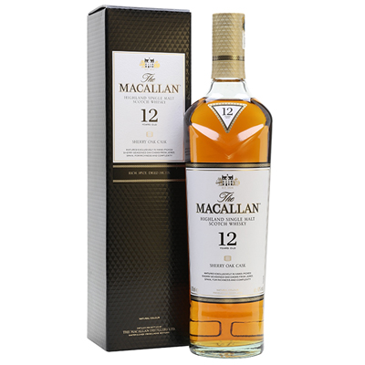 Macallan 12 yrs Sherry Singapore