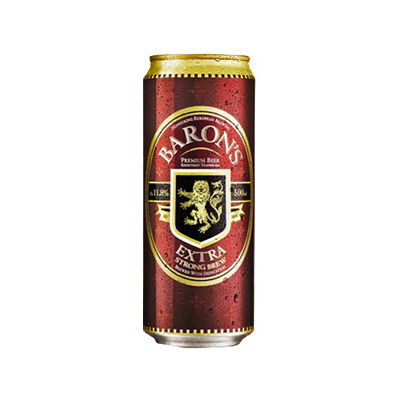 Baron's Beer 500ml Can Singapore