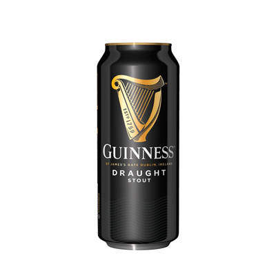 Guinness Draught Beer 440ml Can x24 Singapore