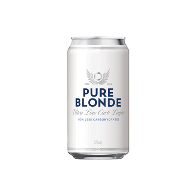 Pure Blonde Beer Can Singapore