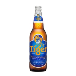 Tiger Beer 650ml Bottle Singapore