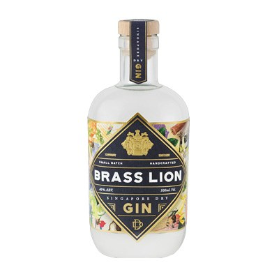 Brass Lion Singapore Dry Gin 500ml