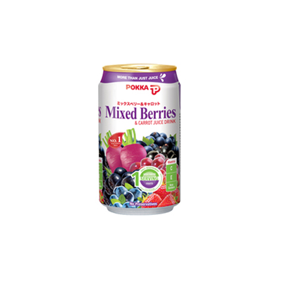 Pokka Mixed Berry 330ml Can Singapore