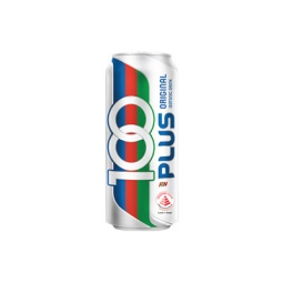 100 Plus 330ml Can Singapore