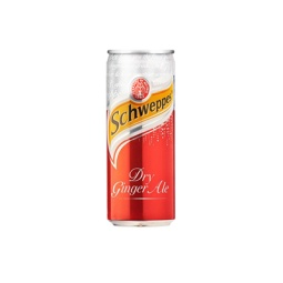 Schweppes Dry Ginger Ale 330ml Can Singapore