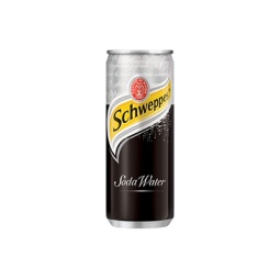 Schweppes Soda Water 330ml Can Singapore