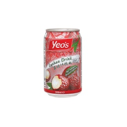 Yeo's Lychee 330ml Can Singapore
